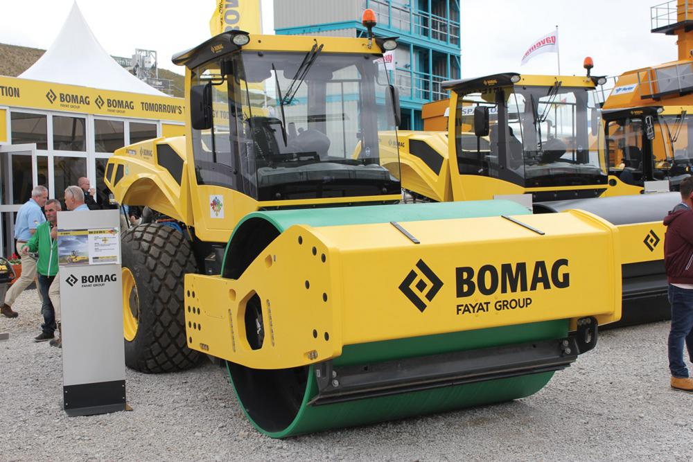 Bomag stand