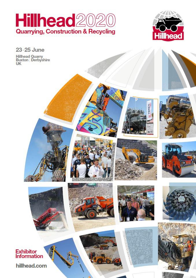 Hillhead 2020 Exhibitor Brochure Cover Image